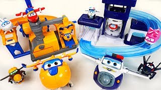 Video Super Wings Donnie's Fix it garage and Paul's police station playset with surprise egg! - DuDuPopTOY MP3, 3GP, MP4, WEBM, AVI, FLV Desember 2017