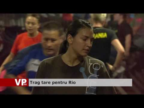 Trag tare pentru Rio