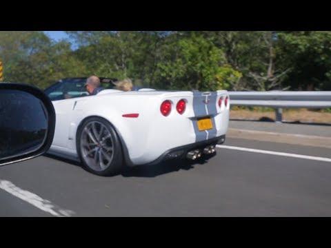 Corvette vs Audi vs Honda Civic carrera de autos