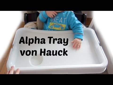 Test: Hauck Esstisch AlphaTray | Babyartikel.de