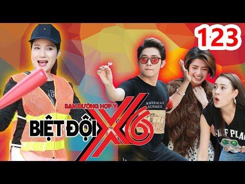 BIỆT ĐỘI X6 | BDX6 #123 | Cát Tường giúp đỡ Bích Trâm-Phương Linh-Quốc Bảo hại đội nhà THUA BANH XÁC - Thời lượng: 30:34.