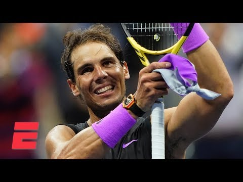 Rafael Nadal advances to men's final by beating Matteo Berrettini | 2019 US Open Highlights