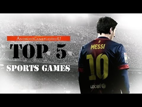 Top 5 Best Sports Android Games 2014 (HD)