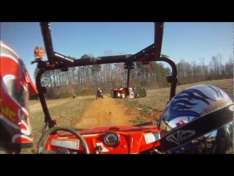 Polaris Rzr 570 trail riding