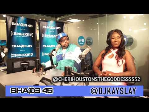 Cheri Houston's The Goddess stopped by Dj Kayslay show at Shade45