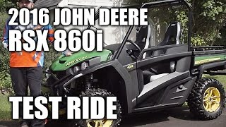 8. 2016 John Deere Gator RSX 860i