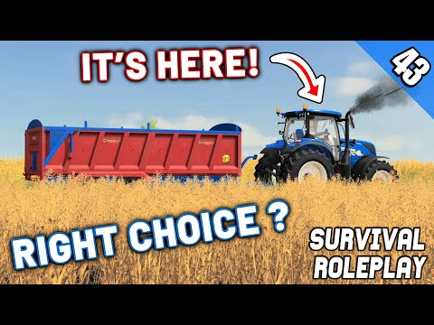 NEW TRACTOR IS HERE! WHAT IS IT? - Survival Roleplay S3 | Episode 43