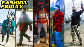 GTA Online: FASHION FRIDAY! 25+ NEW OUTFITS! (Starlord, Bone Collector, The Canadian & MORE)