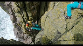 Sea-cliff climbing essentials 3: Abseil, retreat and escape by teamBMC