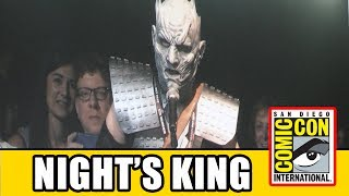 Night's King makes a surprise appearance at the Game of Thrones Comic Con 2017 panel Subscribe for more!