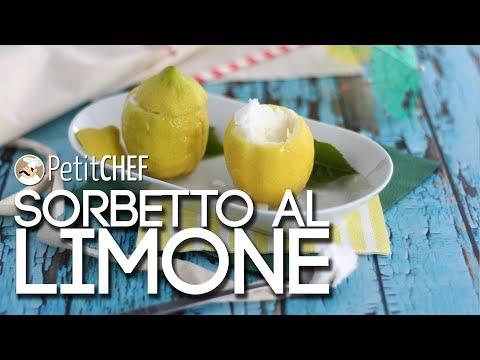 sorbetto al limone - ricetta