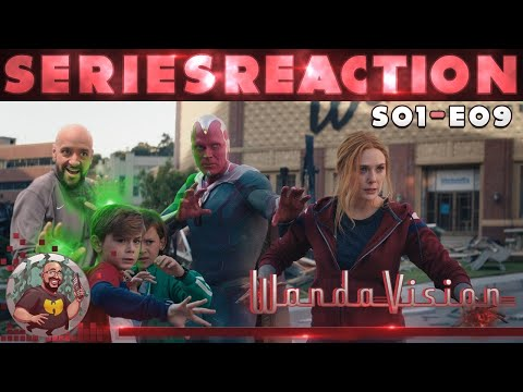 WandaVision - Season 1 - Episode 9 - The Series Finale Reaction 🔮🤖