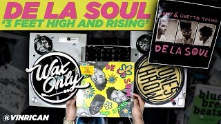 Discover Samples On De La Soul's '3 Feet High And Rising' #WaxOnly