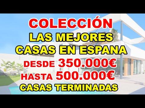 350-500000€/Casas terminadas/Mejores casas en Costa Blanca/Comprar villa en Benidorm/Casas modernas