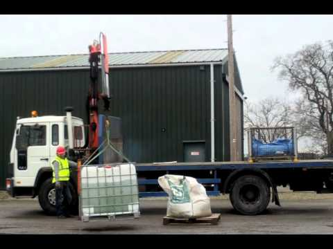 Volvo Hiab - A video showing a driver at Tockwith Training in York practicing for the RTITB Lorry Loader Skills Test with our Palfinger PK8000 mounted on an aging Volvo F...