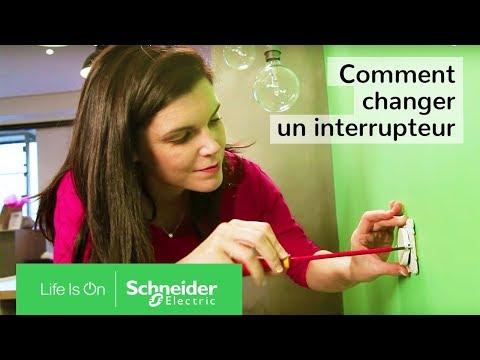 comment demonter interrupteur