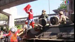 Khmer Others - Thai troops crack down on protesters