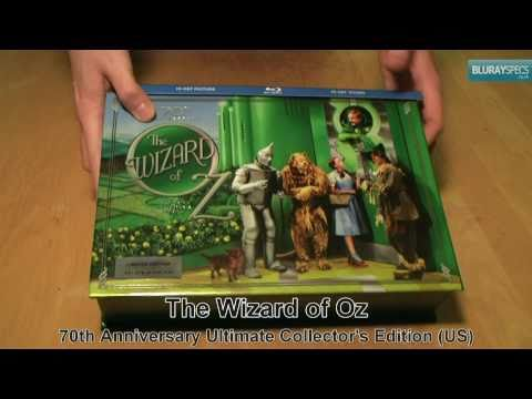 "Blurayspecs.co.uk: Unboxing Of ""The Wizard Of Oz - Collector's Edition"" (US) Blu-ray"