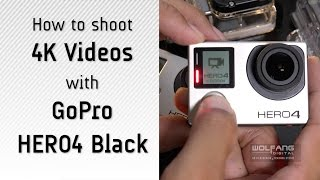 Video How to shoot 4K videos with GoPro Hero4 Black MP3, 3GP, MP4, WEBM, AVI, FLV September 2018
