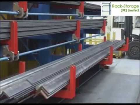 Cantilever Roll out Racking