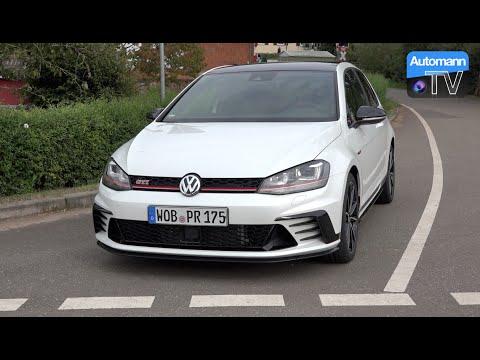 2017 Golf GTI Clubsport (290hp) - DRIVE & SOUND (60FPS)