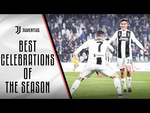 Best Juventus goal celebrations of the 2018/19 season!