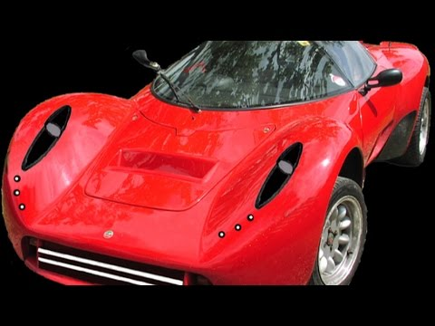 Unusual sports car restoration - Raffo Belva (7)