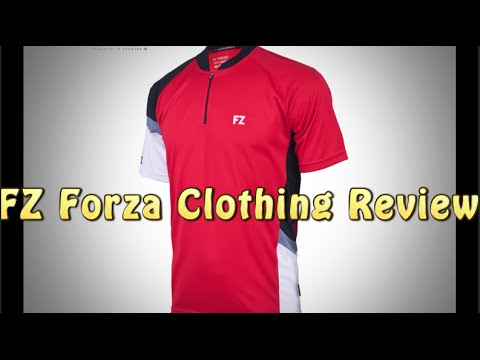 「永仔」FZ Forza Badminton Clothing Review (ENG/英文)  羽毛球件衫評