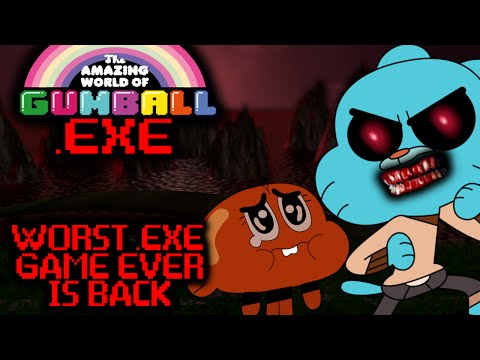 THE WORST .EXE GAME EVER IS BACK! GUMBALL.EXE