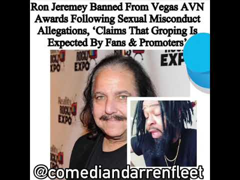 RON JEREMY BANNED FROM ADULT MOVIE AWARDS? (видео)