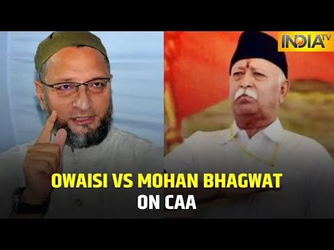 We Are not Kids'; Asaduddin Owaisi Hits Back At Mohan Bhagwat's Comment On CAA