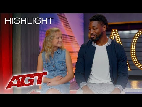 The Incredible DARCI LYNNE Catches Up With Runner-Up Preacher Lawson - America's Got Talent 2019