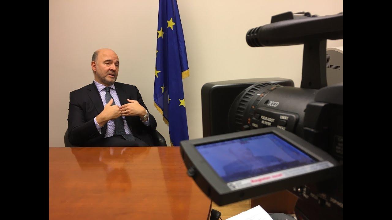 Πιερ Μοσκοβισί στη «Ν»: Δεν υπάρχει πρόγραμμα χωρίς το ΔΝΤ