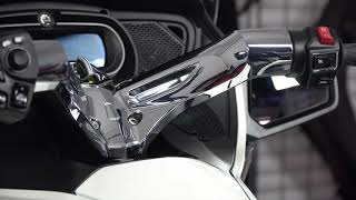 4. Chrome Handlebar Cover for the Can-Am Spyder RT