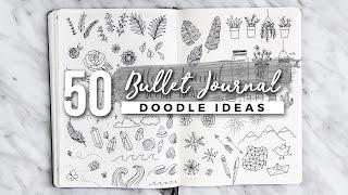 Video 50 Bullet Journal Doodle Ideas! | The ULTIMATE Guide MP3, 3GP, MP4, WEBM, AVI, FLV Juli 2018