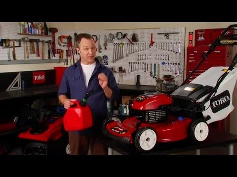 Fuel Tips for Gasoline Lawn Mowers and Snow Blowers | Toro