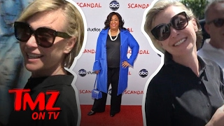 Portia De Rossi says the reason you won't see her on 'Scandal' anymore is Shonda Rhimes. SUBSCRIBE: http://po.st/TMZSubscribe About TMZ: TMZ has ...