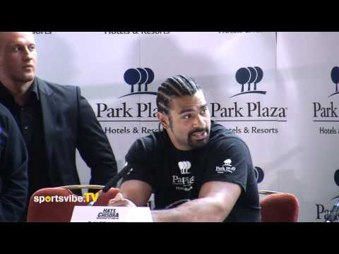 David Haye - Dereck Chisora Press Conference Highlights 12/06/12