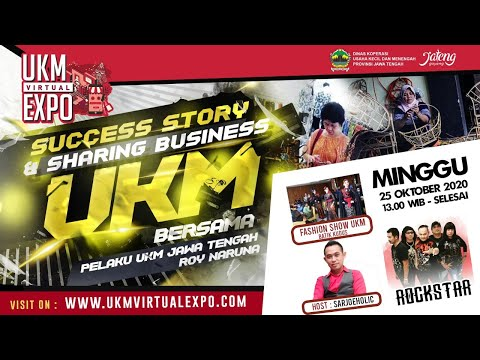 Sukses Story & Sharing business | UKM VIRTUAL EXPO