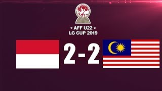 Download Video IMBANG! INDONESIA VS MALAYSIA FULL HIGHLIGHT - AFF U-22 LG CUP 2019 MP3 3GP MP4
