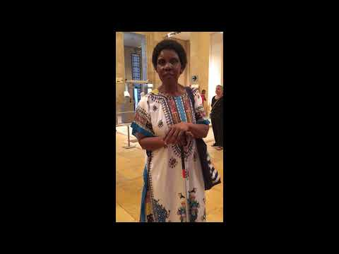 """Josephine Odira Sinyo from Kenya about the """"Doors. Please Touch"""" project"""