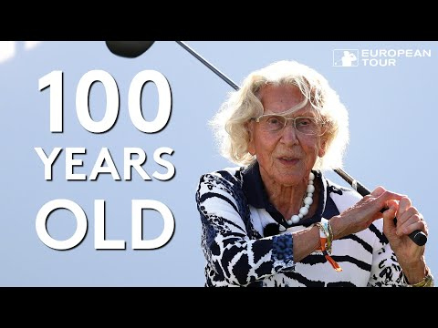 100-year-old golfer plays with stars