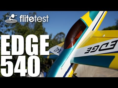 540 - Flite Test - Hobby King Edge 540 maiden flight -- REVIEW The Joshes show their brotherly love while on the beaches of southern California while reviewing the...