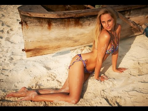 Genevieve Morton Goes Coconuts | World's Top Bikini Models | WorldSwimsuit.com