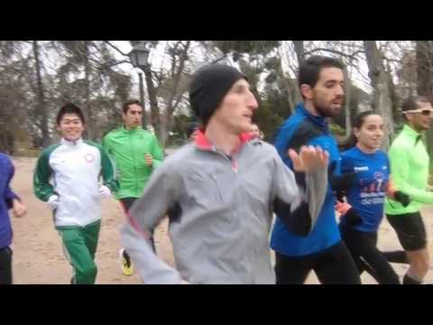 Running with Yuki Kawauchi- New Year's Day 2014-Madrid