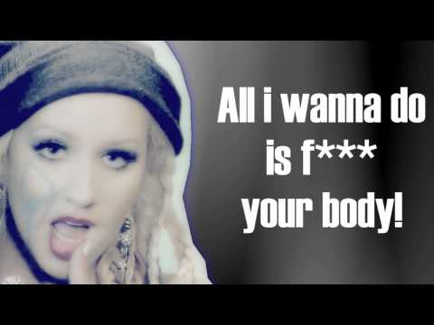 Christina Aguilera - Your Body (LYRICS VIDEO EXPLICIT VERSION)
