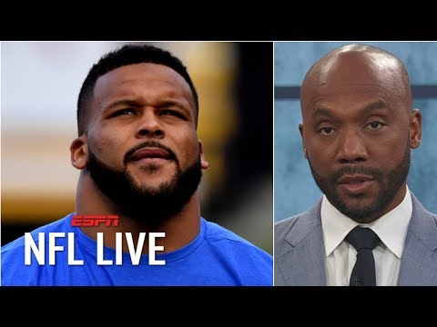Video: Aaron Donald has transcended the defensive tackle position – Louis Riddick | NFL Live