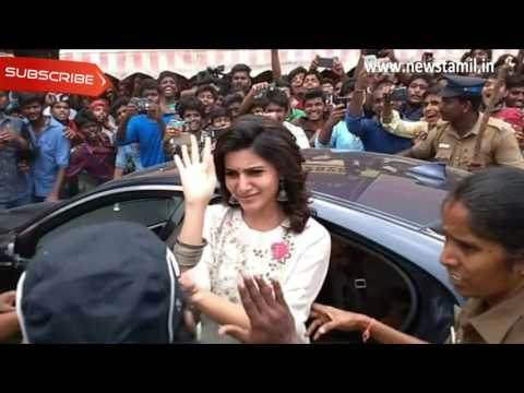 Video Fans mobbed Samantha in Madurai download in MP3, 3GP, MP4, WEBM, AVI, FLV January 2017