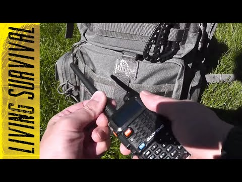 Survival Communication Options Baofeng BF-F8+ UV-5R
