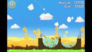 Angry Birds Seasons Summer Pignic Level 29 Walkthrough 3 Star